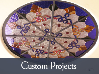 custom stained glass projects